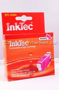 Картридж струйный InkTec BPI-426M, Magenta, для Canon Pixma ip4840/ MG5140/ 5240/ 6140/ MX884
