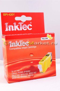 Картридж струйный InkTec BPI-426Y, Yellow, для Canon Pixma ip4840/ MG5140/ 5240/ 6140/ MX884